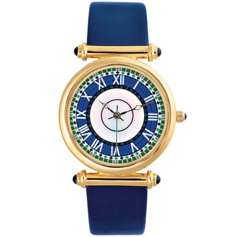 Laurelton Hall Mosaic Strap Watch