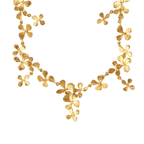 Cloisters Mustard Herb Necklace