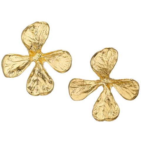Cloisters Mustard Herb Earrings (stud)