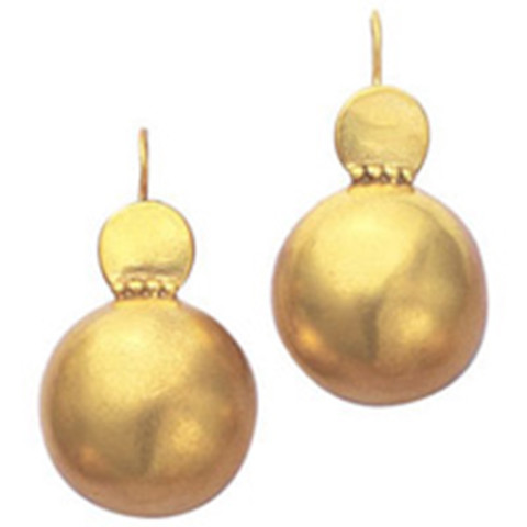 Roman Ball Earrings