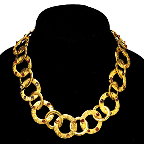 Cypriot Multi-Link Necklace