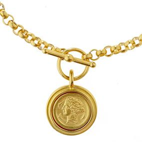 Arethusa Coin Necklace