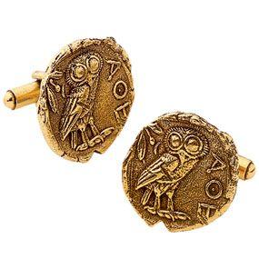 Athenian Coin Cufflink