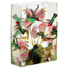 Audubon Birds Vase