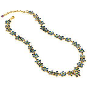 Azure Posy Necklace