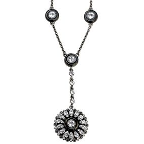 French Neoclassical Button Necklace