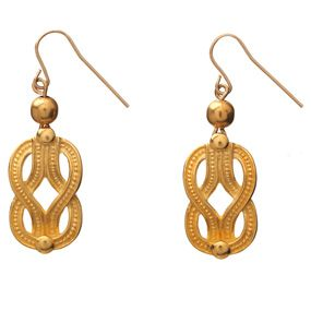 Herakles Knot Drop Earrings