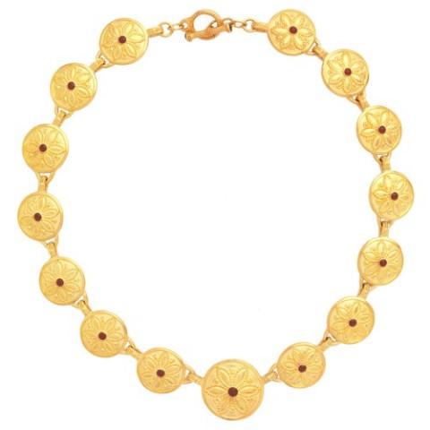 Javanese Lotus Necklace