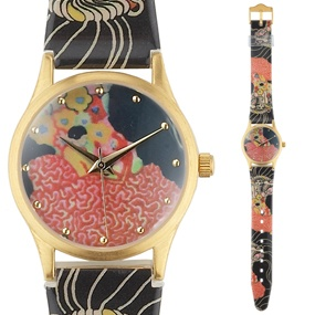 Klimt  Pink Watch