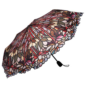 Louis Comfort Tiffany Lotus Blossom Umbrella