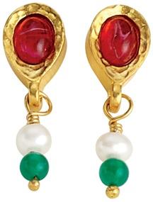 Mughal Fringe Earrings