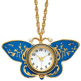 Papillon Reversible Pendant Watch