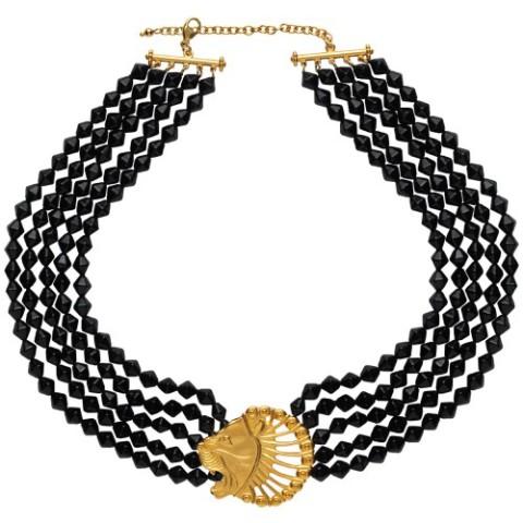 Persian Lion's Head Necklace