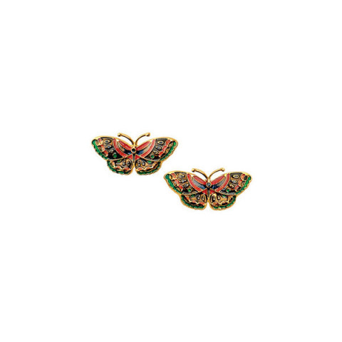 Qing Butterfly Earrings (post)