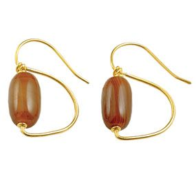Roman Agate Earrings
