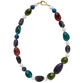 Spanish Medieval Stones Necklace