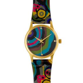 Wiener Werkstatte Circles Watch